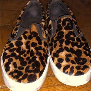 Leopard Lauren by Ralph Lauren Slip-Ons